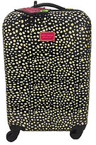 "Betsey Johnson 32"" Spot-Print Hardside Spinner"