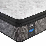 Sealy Besant Cushion Firm Pillowtop - Mattress + Box Spring