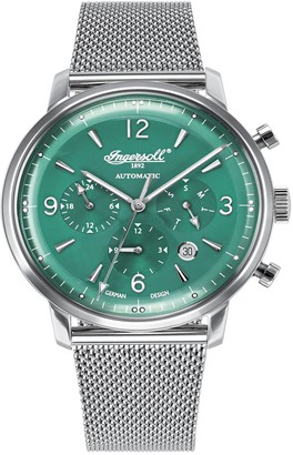 Ingersoll Womens Analogue Automatic Watch with Stainless Steel Strap IN1712GRMB