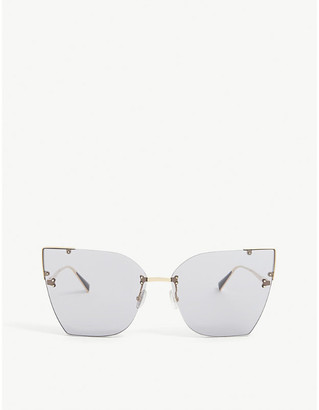 Max Mara Anita cat-eye acetate sunglasses