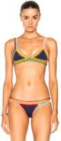 Kiini Tasmin Poly-Blend Bikini Bottom