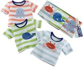 Baby Aspen 3-pk. Deep Sea Animal Stripe Tee Gift Set - Baby Boy