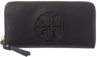 Tory Burch Miller Leather Continental Wallet