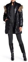 Rudsak Genuine Leather Faux Fur Annye Coat