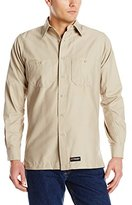 R&K Wrangler Workwear Men's Long Sleeve Work Shirt