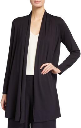 Eileen Fisher Fine Lyocell Jersey Kimono Jacket