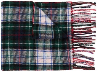 Polo Ralph Lauren Polo Poney plaid-print scarf