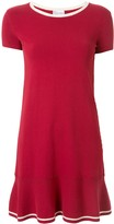 RED Valentino stretch-knit flared dress