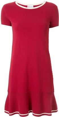 RED Valentino stretch-knit flared dress
