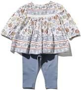 M&Co Boho print top and legging set