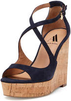 Ava & Aiden Women's Darcy Strappy Cork Platform Wedge Sandal