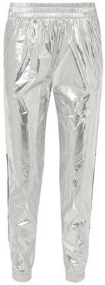 Paco Rabanne Printed Metallic Shell Track Pants