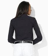 Lauren Ralph Lauren Long-Sleeved Cotton Poplin Blouse