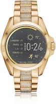 Michael Kors Gold-tone PVD Stainless Steel Bradshaw Women's Smartwatch