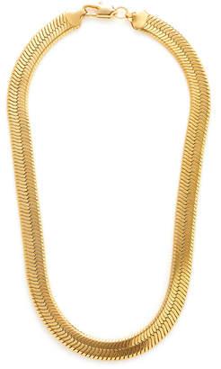 Fallon Gold-Tone Brass Collar Necklace