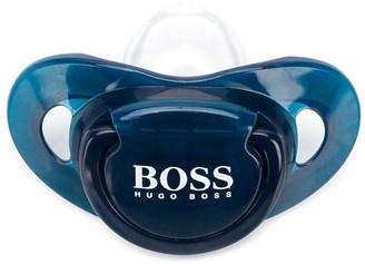 Boss Kidswear Logo Print Pacifier