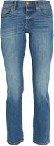 Madewell Boyjean mid-rise slim-leg jeans