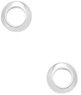Miansai Round Stud Earrings