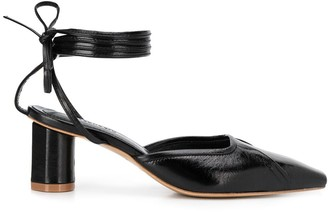 SALONDEJU 55mm Strappy Pointed Mules