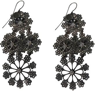 Gas Jeans Neige & Flocon Silver Metal Earrings