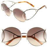 Chloé 'Jackson' 60mm Round Sunglasses