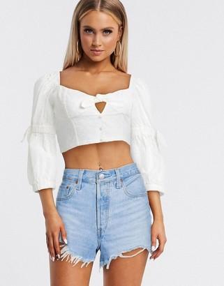 For Love & Lemons bora bora blouse