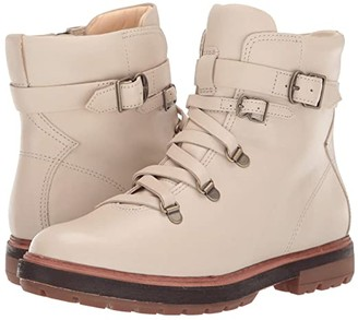 Timberland Riley Flair Hiker (White Full Grain) Women's Lace-up Boots