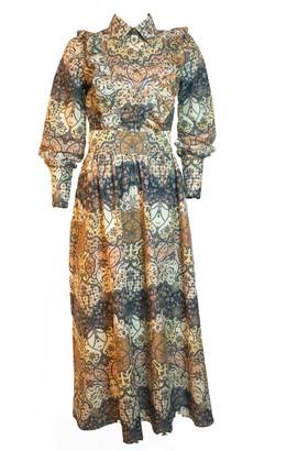 Relax Baby Be Cool Pisang Bali Long Sleeve Maxi Dress
