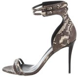 Giuseppe Zanotti Embossed Coline Sandals w/ Tags