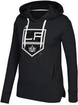adidas Women's Los Angeles Kings Logo Shine Hooded Sweatshirt