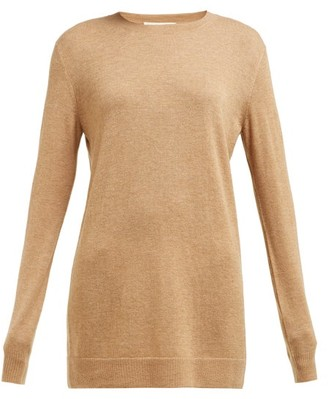 Bottega Veneta Round-neck Cashmere Sweater - Camel