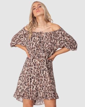 Three of Something Summer Leopard Vacation Dress