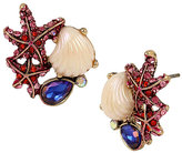 Betsey Johnson BETSEY AND THE SEA CLUSTER EARRINGS