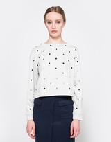 Cheap Monday Expand Sweat in Moon Dot