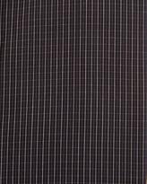 English Laundry Grid Poplin Dress Shirt, Black