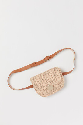H&M Straw Belt Bag