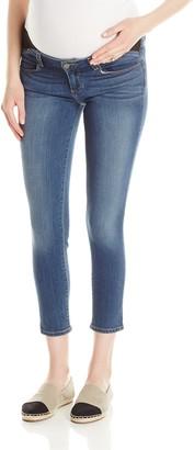 Paige Denim Women's Transcend Verdugo Cropped Maternity Jeans