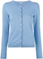 P.A.R.O.S.H. classic cardigan - women - Cotton/Spandex/Elastane - L