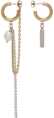 Justine Clenquet Gold Jamie Earrings