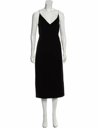 Oscar de la Renta 2018 Velvet Dress w/ Tags Black