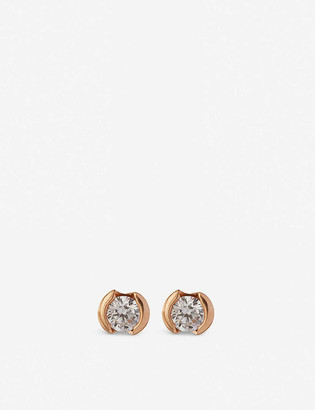 The Alkemistry 18ct White-Gold And Diamond Stud Earrings