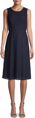 Rachel Roy Elana Lace Fit & Flare Dress