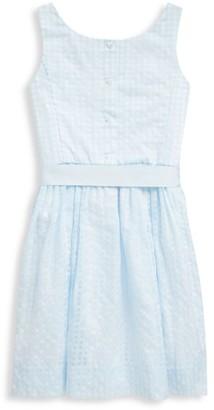 Ralph Lauren Little Girl's & Girl's Check Fit & Flare Dress