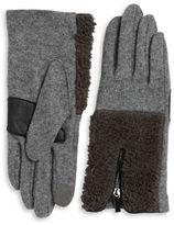 Echo Sherpa Cuff Cashmere-Blend Tech Gloves