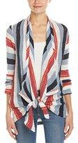 Splendid Women's Rancho Stripe Loose Knit Cardigan