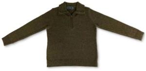 Karen Scott Zippered-Neck Sweater, Created for Macy's