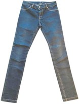 Just Cavalli Blue Cotton - elasthane Jeans for Women