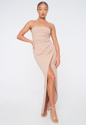 Missguided Bandeau Gown