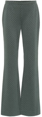 Diane von Furstenberg Caspian high-rise wide-leg pants