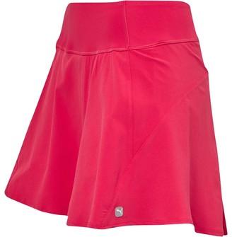 Puma Womens PWRShape Drycell Pleated Wave Golf Skirt Azalea